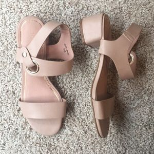 NWT Topshop Block Heel Sandal